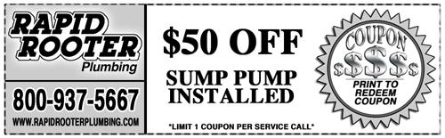Deals Promos Amp Coupons Rapid Plumbing Amp Drain Service